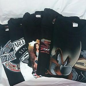 Harley Davidson short sleeves T shirt Bundle